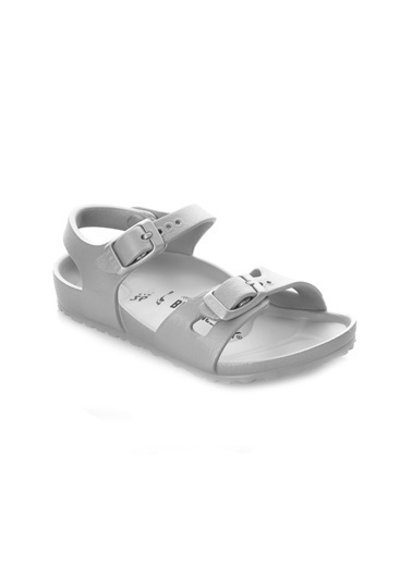 Birkenstock Çocuk Sandalet Rio Eva 1003533 Gümüş